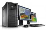 HP Z800 2 monitors