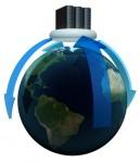 Stock image representing global data management
