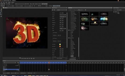 Corel launches new $99 MotionStudio 3D : GraphicSpeak