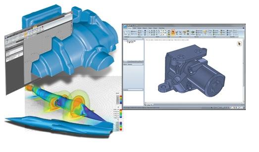 Geomagic Spark unites 3D scan data with MCAD geometry : GraphicSpeak