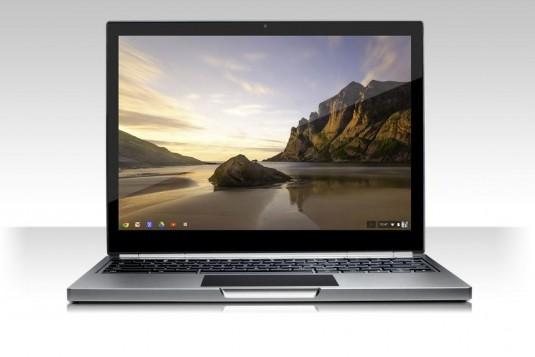 The new Google Chromebook Pixel. (Source: Google)