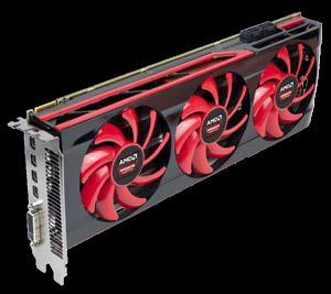 AMD's new Dual GPU Radeon HD7990 AIB. (Source: AMD)