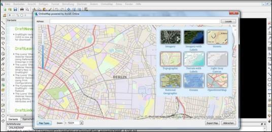 Graebert adds ArcGIS Online Maps plug-in to DraftSight : GraphicSpeak