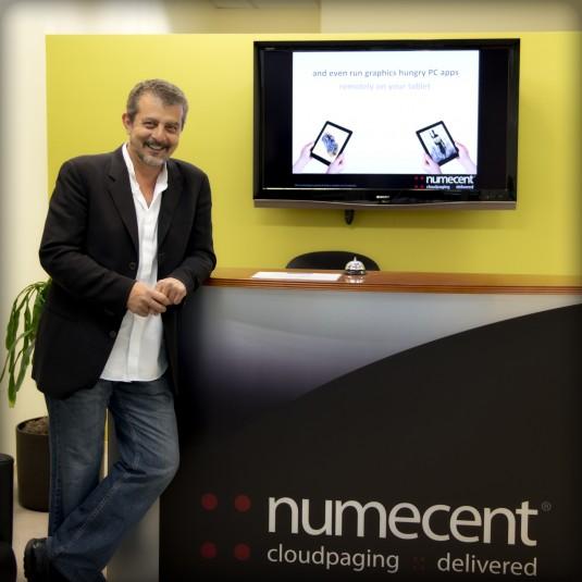 Osman Kent, Numecent CEO. (Source: Numecent)