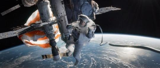 Gravity (Source: Siggraph via Warner Bros. Pictures and Framestore)