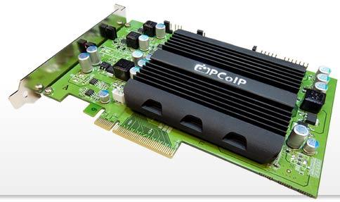 The Teradici PCoIP hardware accelerator. (Source: Teradici)