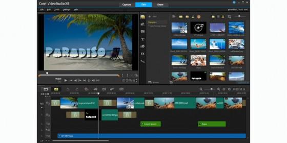 Corel VideoStudio is the company's consumer-level video editor. (Source: Corel Software)
