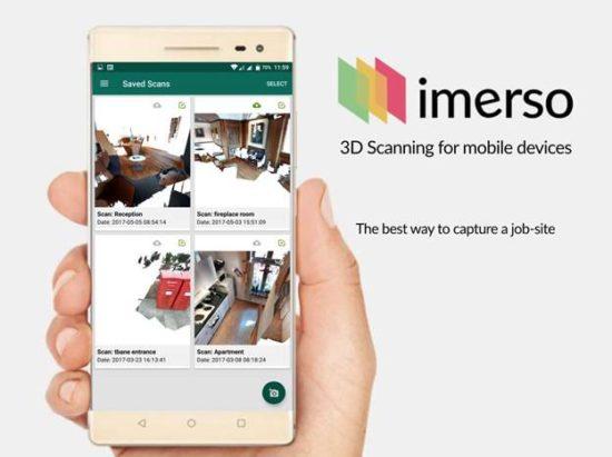 Imerso's browser-based 3D scanner and BIM management tool : GraphicSpeak