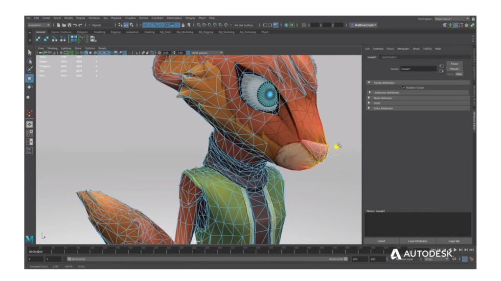 Autodesk Maya 2019 arrives : GraphicSpeak