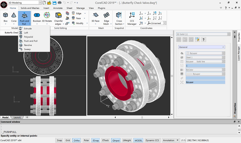 Corel releases CorelCAD 2019 : GraphicSpeak