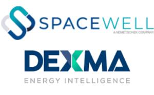 Spacewell_Dexma logos